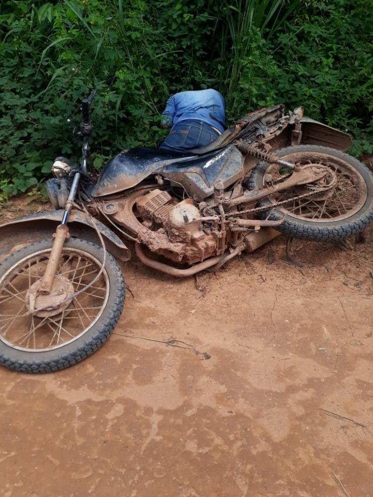 Homem é encontrado morto às margens da vicinal 18 travessão, em Brasil Novo