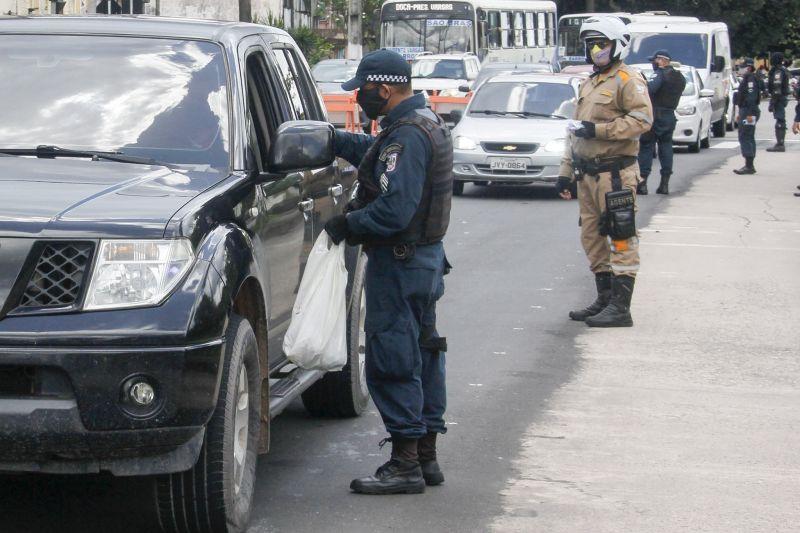 População não cumpre decreto e órgãos de segurança pública registram 60 autuações