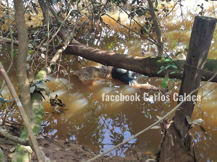 Corpo de homem é encontrado sem cabeça em rio na zona rural da cidade de Uruará