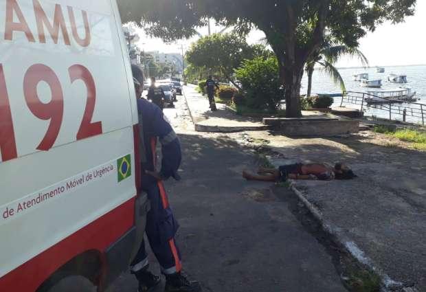 Homem é assassinado próximo à uma Praça, em Santarém