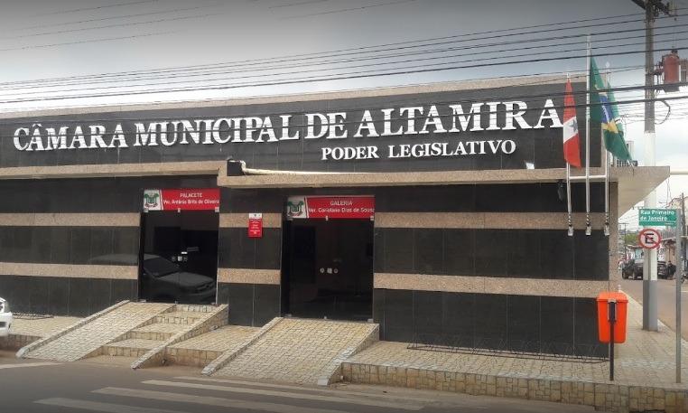 Câmara de Altamira emite nota sobre operação