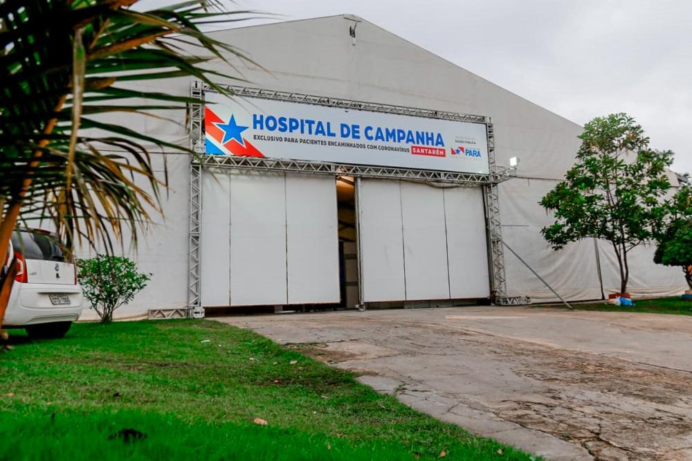 Hospital de Campanha de Santarém registra morte de três pacientes que estavam internados na unidade