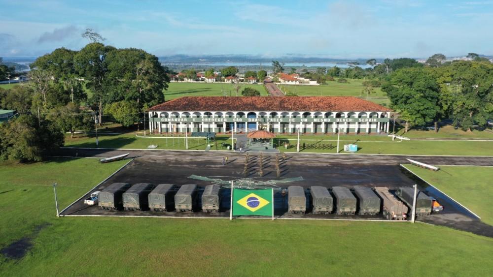 51°BIS promove campanha para arrecadar alimentos, em Altamira