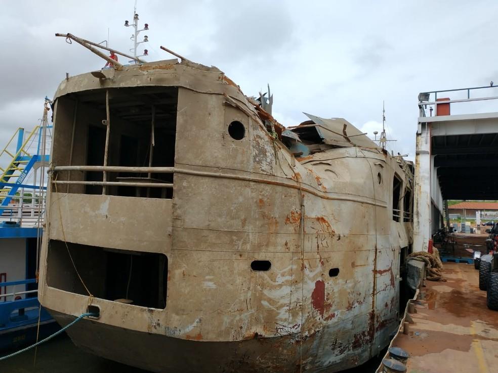 Comandante, 2 militares e mais 3 pessoas são indiciados por naufrágio do navio Anna Karoline 3