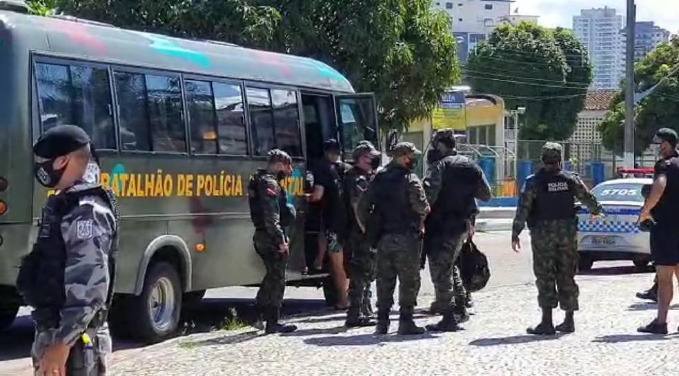 Em Belém, mais de 100 manifestantes são detidos por provocar aglomeração