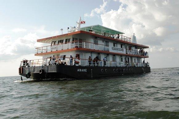 Barco Hospitalar Abaré já tem data marcada para atendimento às famílias do rio Arapiuns