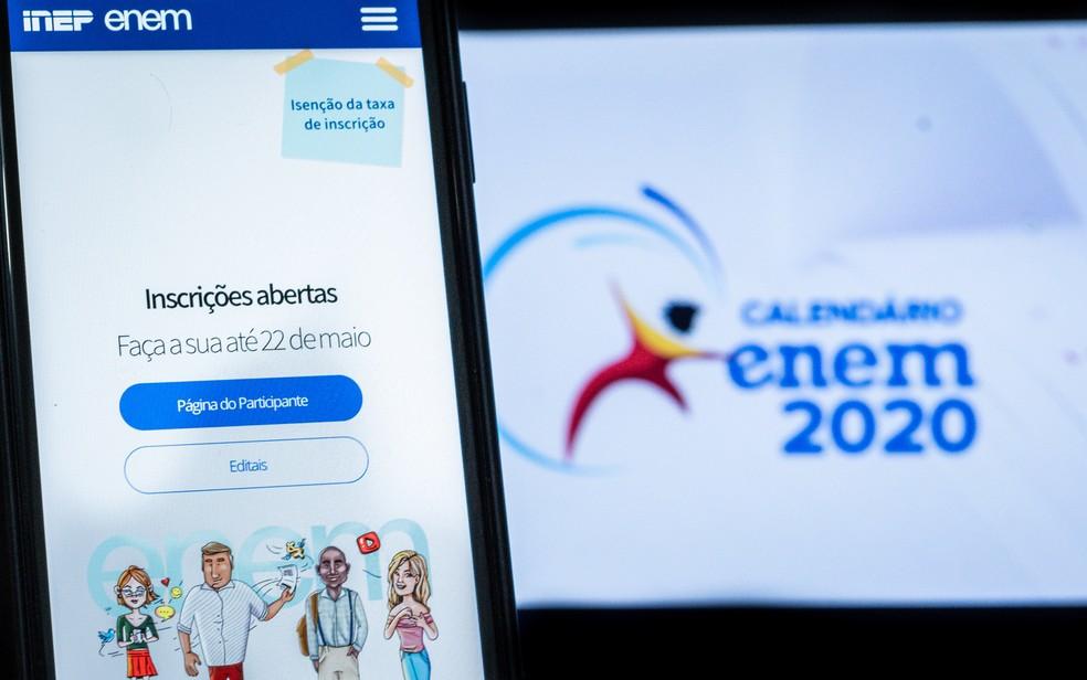 Inscritos no Enem 2020 já podem opinar sobre a nova data da prova