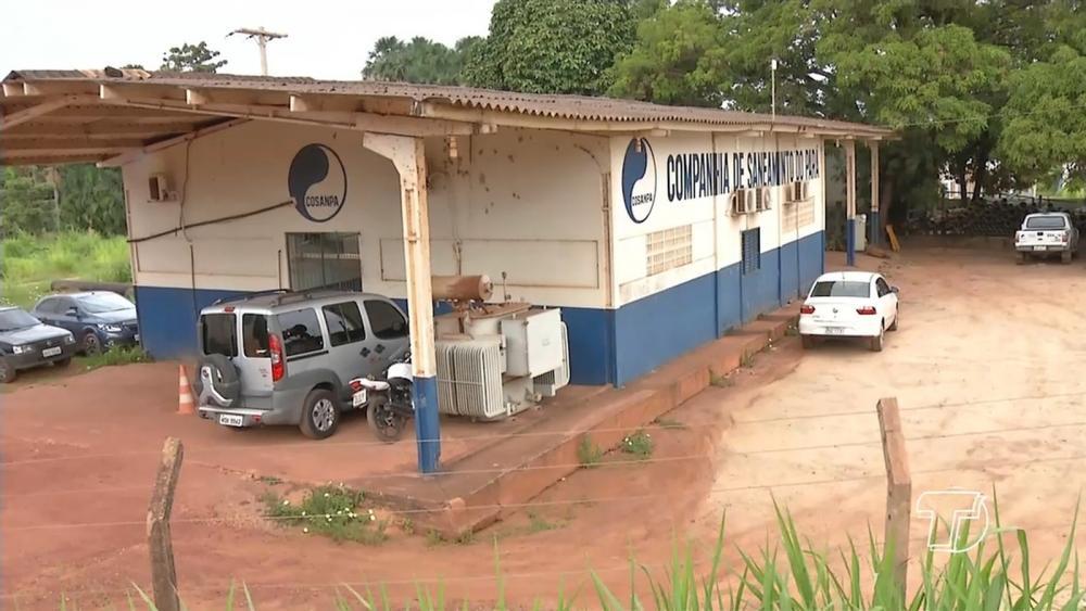 Complexo Irurá da Cosanpa, em Santarém. | Foto: Reprodução/Tv Tapajós