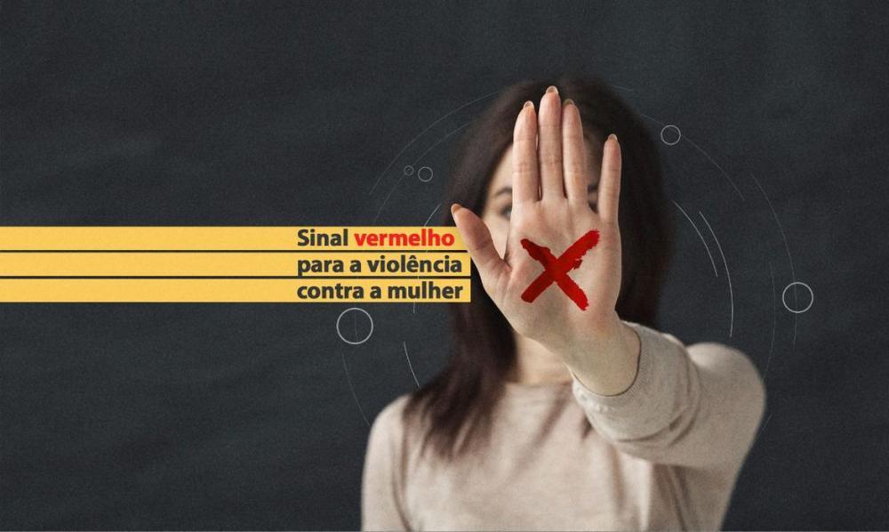 """MPPA apoia a campanha """"Sinal vermelho contra a violência doméstica"""""""