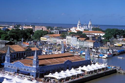 Vista Panorâmica da Cidade de Belém (PA). (Foto: Reprodução)