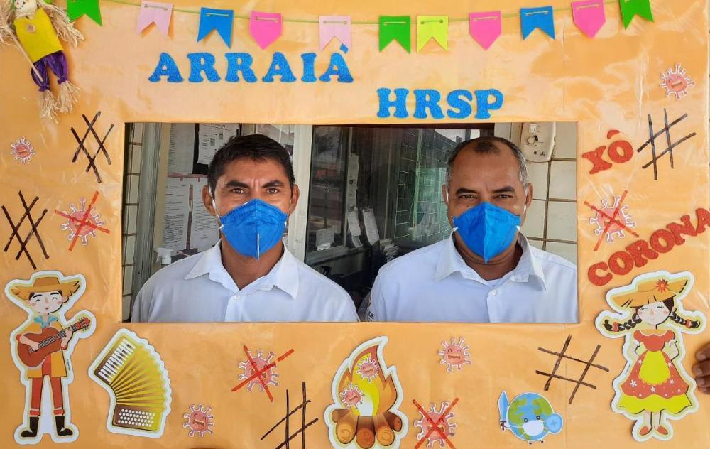 Prevenção e humanização tomam contam da Festa Junina do Hospital Regional do Sudeste do Pará