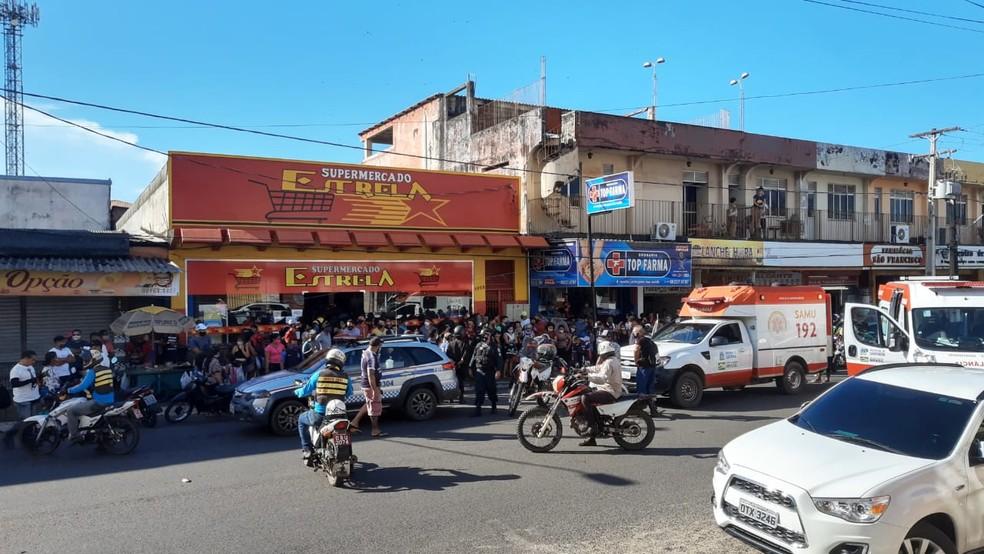Menino de 8 anos é atropelado na Av. Rui Barbosa, em Santarém