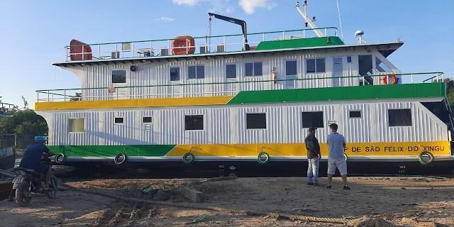 Equatorial Pará monta operação para que transporte de UBS Fluvial seja realizado