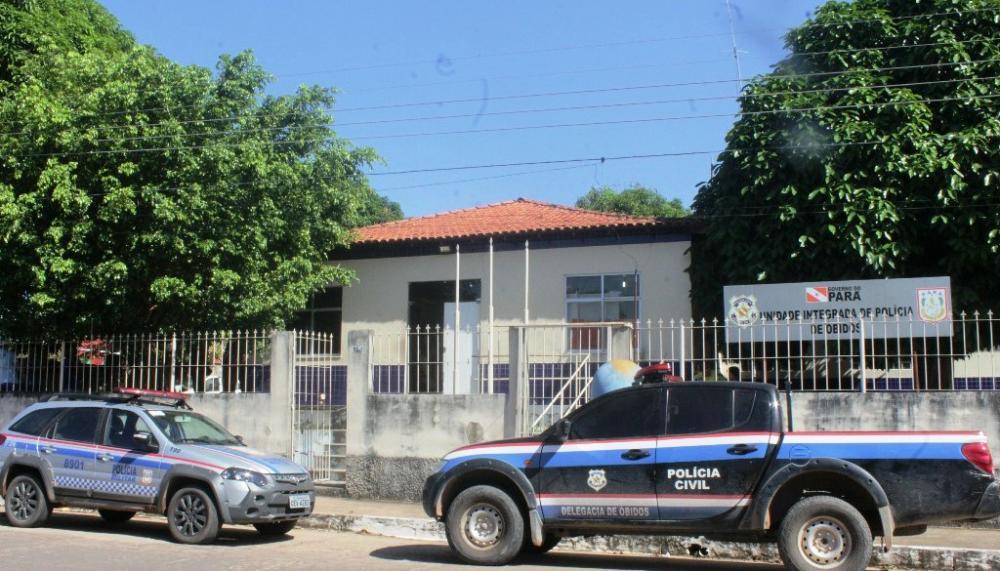 O homem foi preso em flagrante e apresentado na Delegacia de Polícia Cívil em Óbidos. (Foto: Reprodução)
