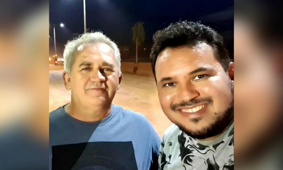Prefeito Valmir Clímaco (esquerda) e vereador Diego Mota (direita.) (Foto: Redes sociais)
