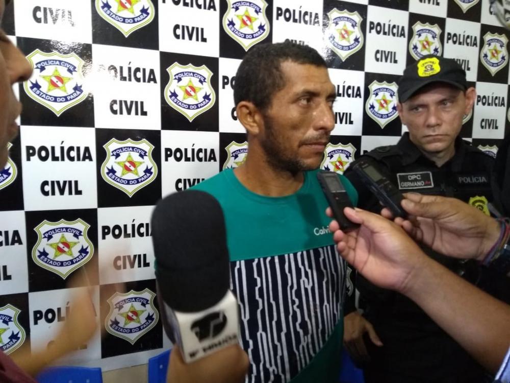 Mauro Barrozo confessou que matou três pessoas das quatro que morreram na chacina de Paca, em Belterra. (Foto: G1)