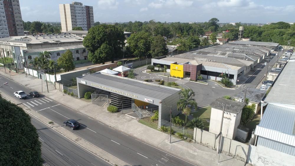 Hospital Público Estadual Galileu, em Belém — Foto: Pró Saúde