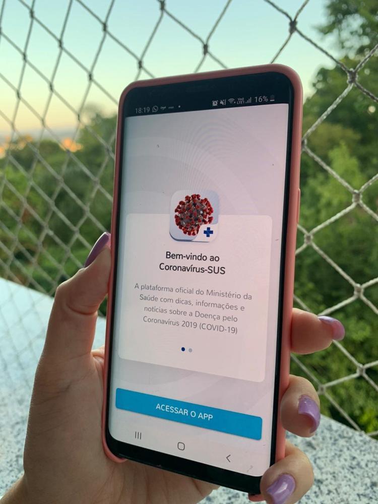 Ministério da Saúde cria aplicativo que faz triagem virtual do coronavírus