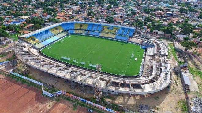 Estádio Colosso do Tapajós, em Santarém. (Foto: Reprodução)