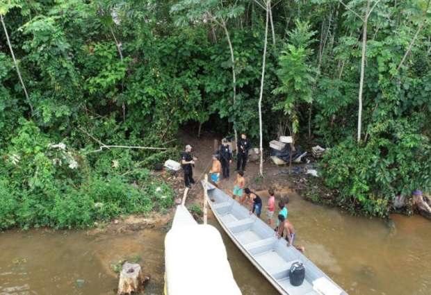 Equipes da Polícia e Secretaria do meio Ambiente constataram existência do crime